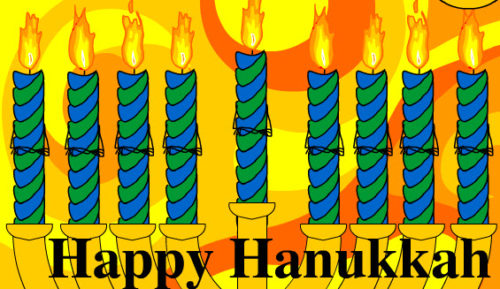Happy Hanukkah  brokerforyou.com