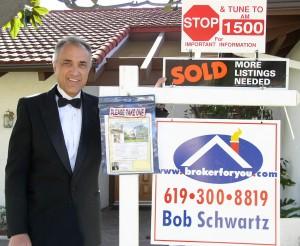 San Diego real estate market, San Diego real estate broker