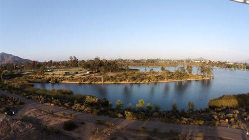 San Diego Aerial Photography Lake Murray San Diego Real
