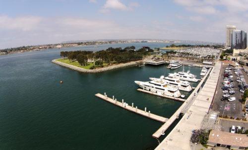 aerial photography San Diego