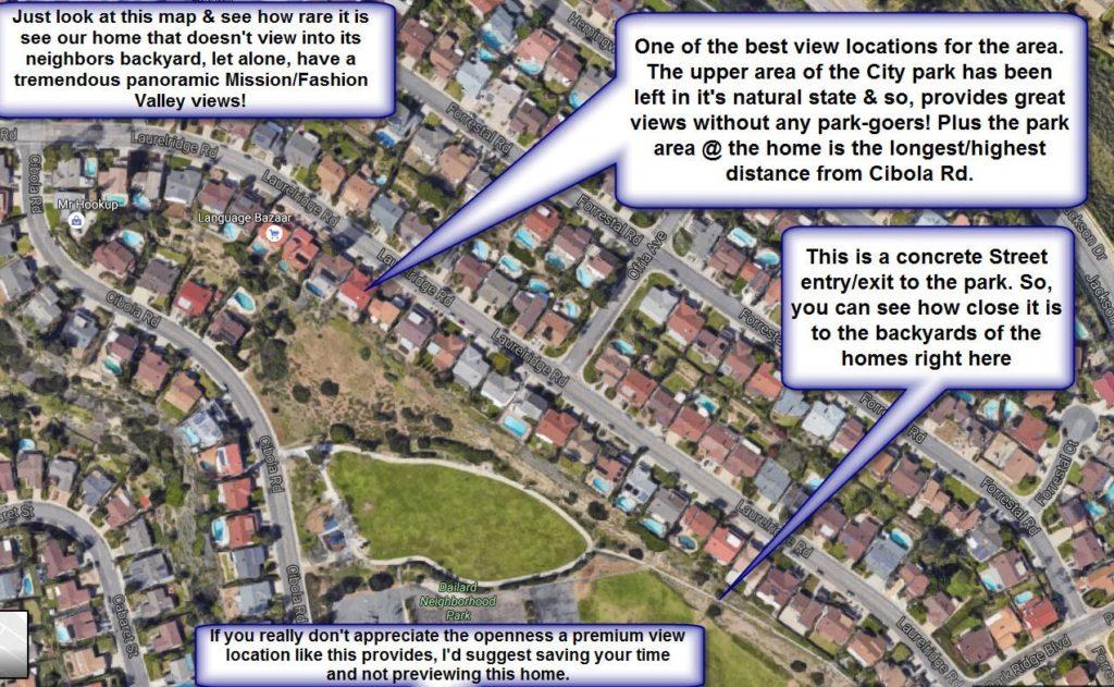 San Diego view home for sale - Vista Del Cerro home for sale